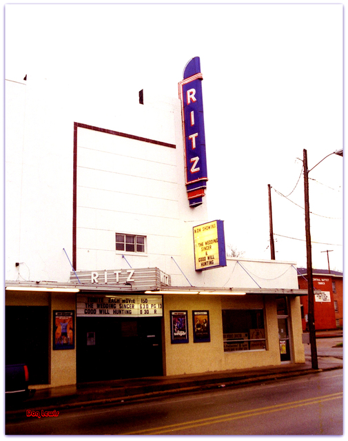 Ritz Theater© Crockett TX / Don Lewis / Billy Smith