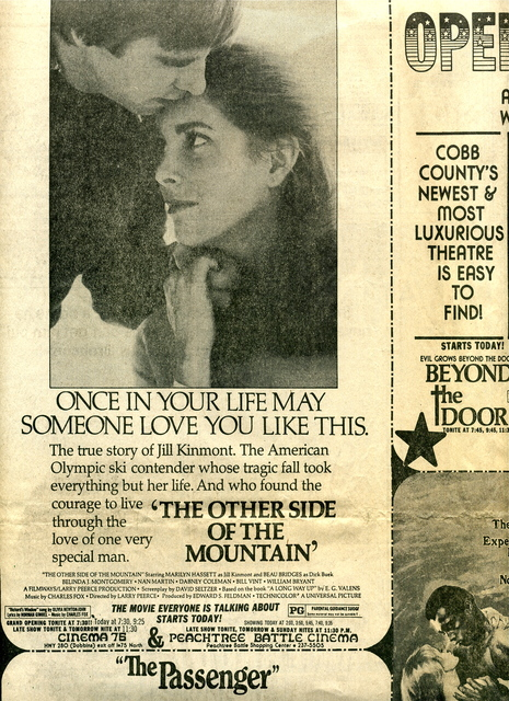 THE OTHER SIDE OF THE MOUNTAIN at PEACHTREE BATTLE CINEMA