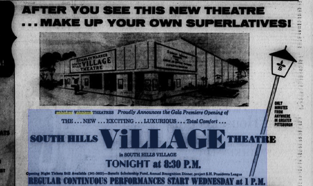 South Hills VILLAGE Theatre