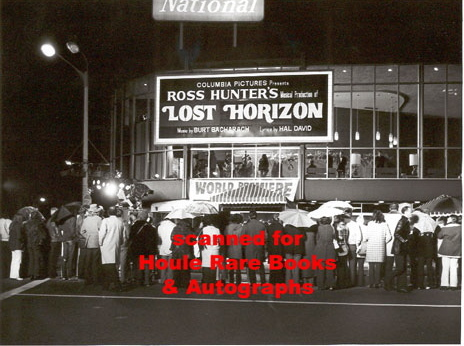 LOST HORIZON PREMIERE at the NATIONAL theatre in WESTWOOD, CA