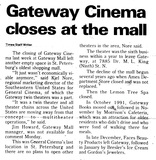 Gateway Cinema I & II, St. Petersburg, FL