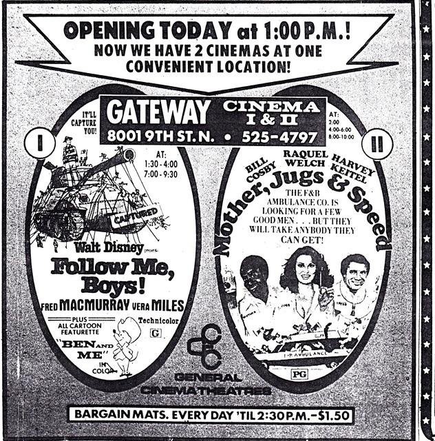 Gateway Cinema I & II, St. Petersburg, FL