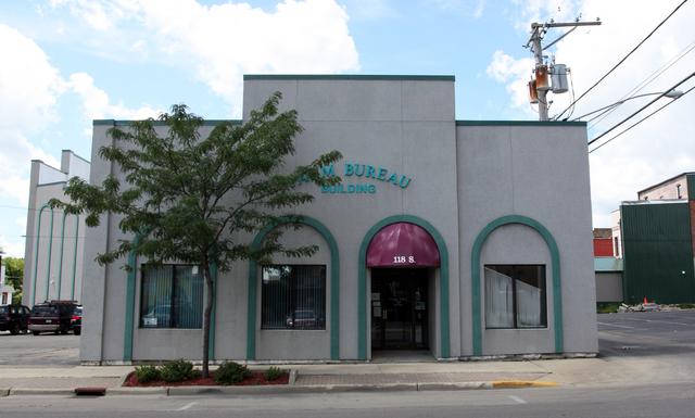 Patio Theater, Freeport, IL - original front entrance