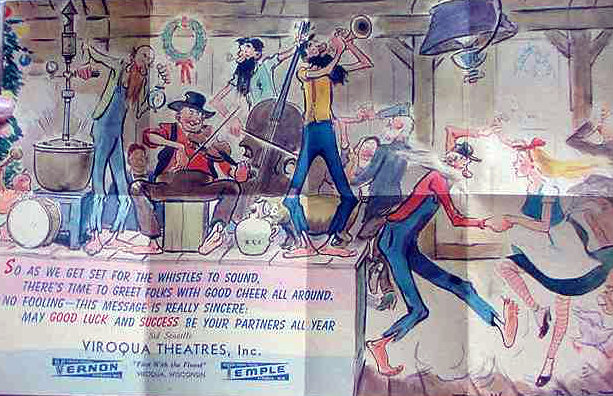 TEMPLE Theatre; Viroqua, Wisconsin.