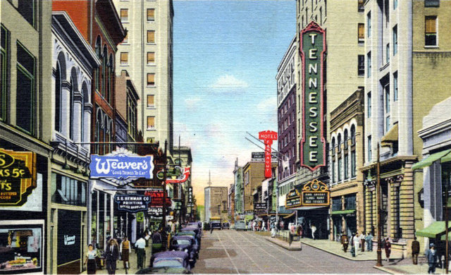 TENNESSEE Theatre; Knoxville, Tennessee.