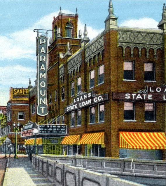 PARAMOUNT Theatre; Waterloo, Iowa.