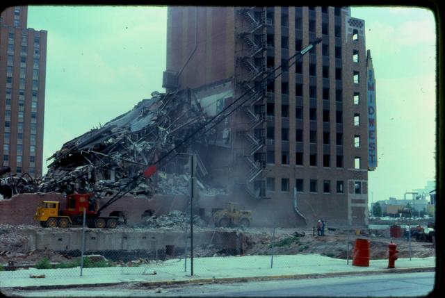 Midwest Theater Okla. City Demolition