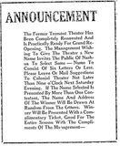 Daniel Webster Theatre