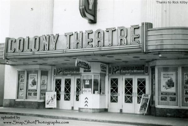 Colony Theatre closeup