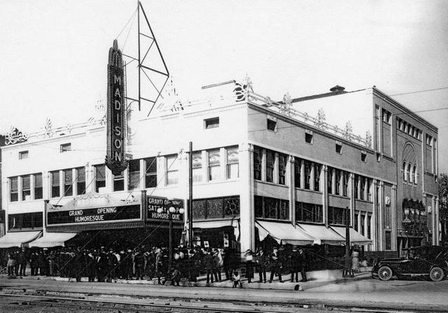 Madison Theater: Peoria, IL. Opening Day 1921