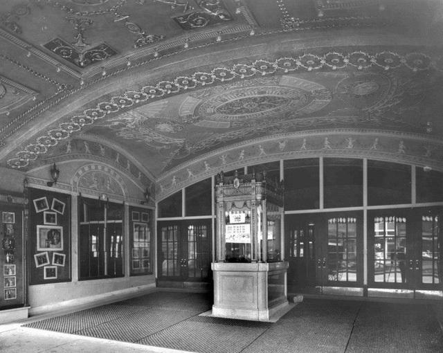 Madison Theater: Peoria, IL. Ticket Vestibule - 1921