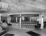 Madison Theater: Peoria, IL. Mezzanine Level and Rotunda - 1921