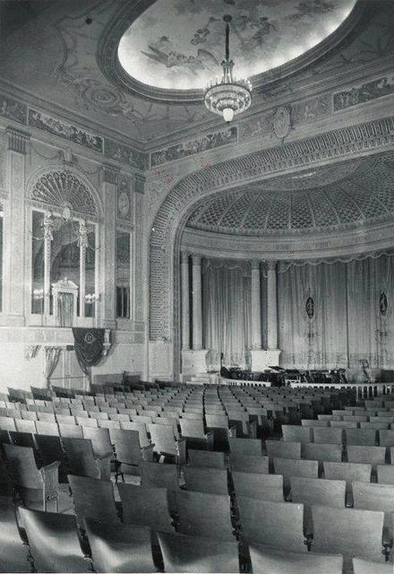 Madison Theater: Peoria, IL. Auditorium view from orchestra - 1921