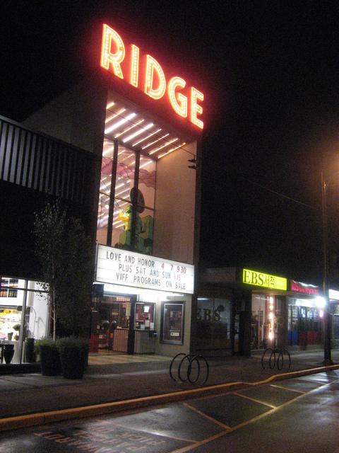 Ridge exterior