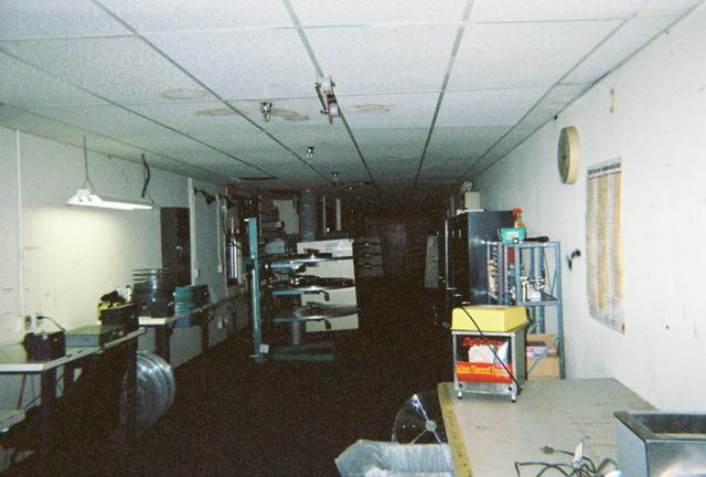 UA Northstar projection booth
