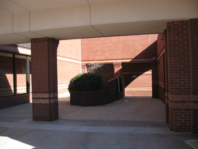 Former Entry to Trinity Commons