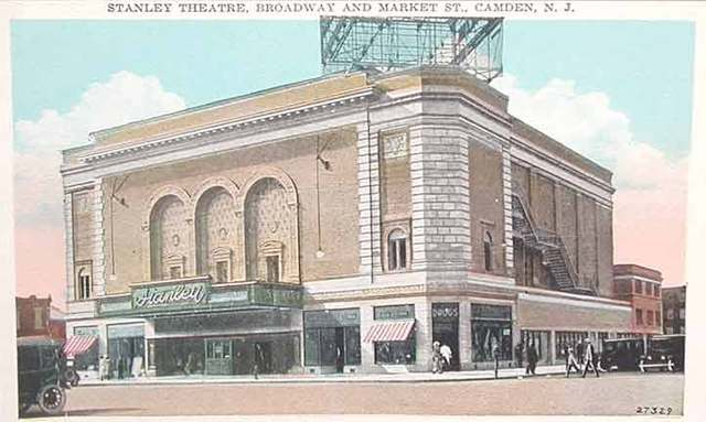Stanley Theatre Postcard