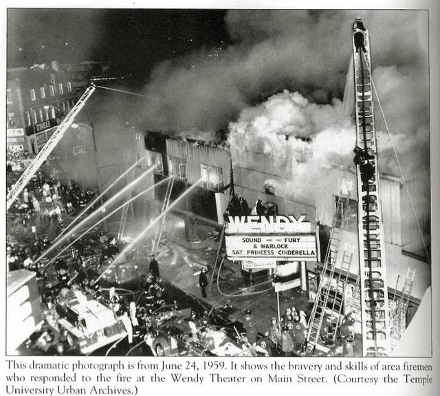 Fire at the Wendy Theatre