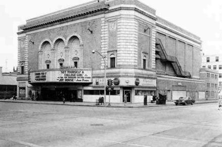 Stanley Theatre, vintage street view