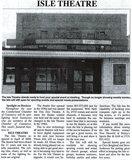 ISLE (ZIM ZIM) Theatre; Cumberland, Wisconsin.