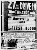 27th Avenue Drive-In marquee