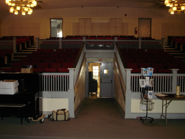 Inside of Fort Harrison movie theatre (1929-2013 and going strong)