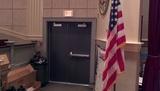 Side exit door