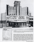 <p>The Trylon Theater was featured in the 1941 Theatre Catalog</p>