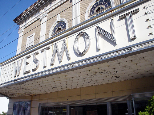Westmont Theater Marquee