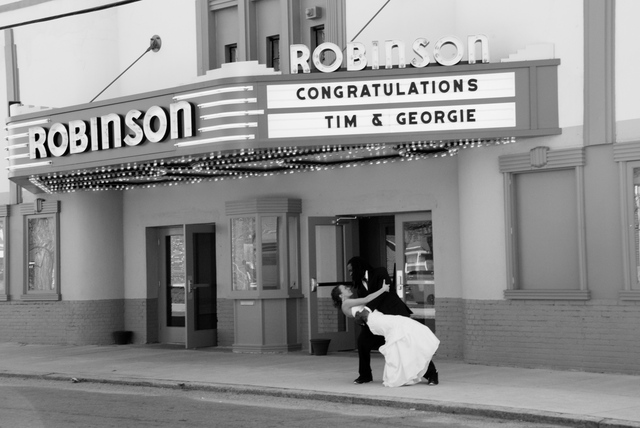 Wedding Reception @ Robinson Theater