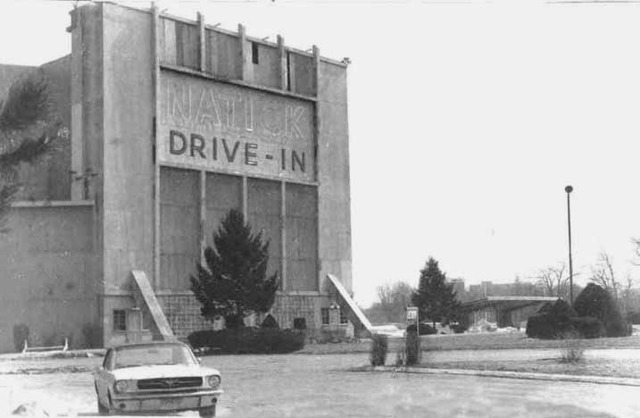 Natick Drive In from the front