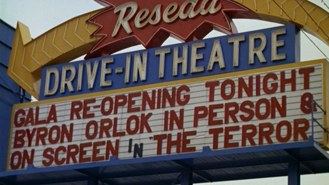 Redesa Drive-In marquee