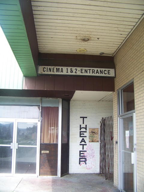 Entrance to The $1.50 Cinema 2
