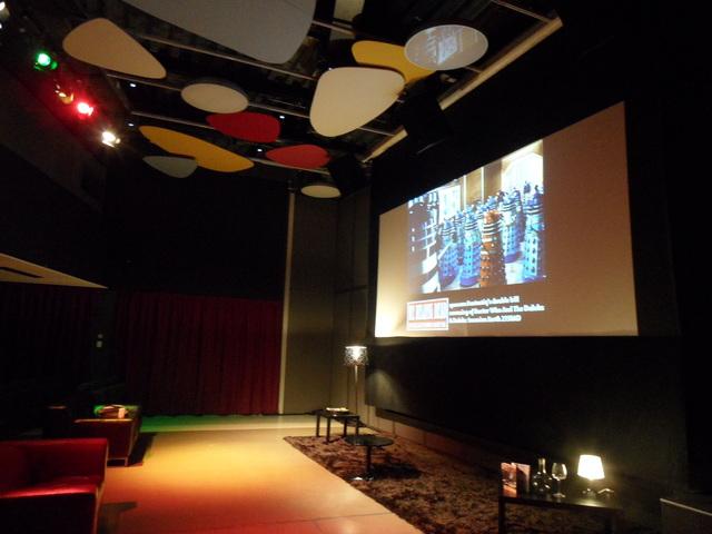 Quad movie theatre