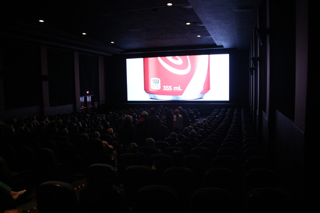 Park Theater screen in action
