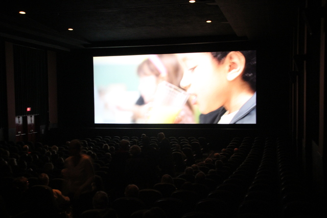 Park Theater screen in action #2