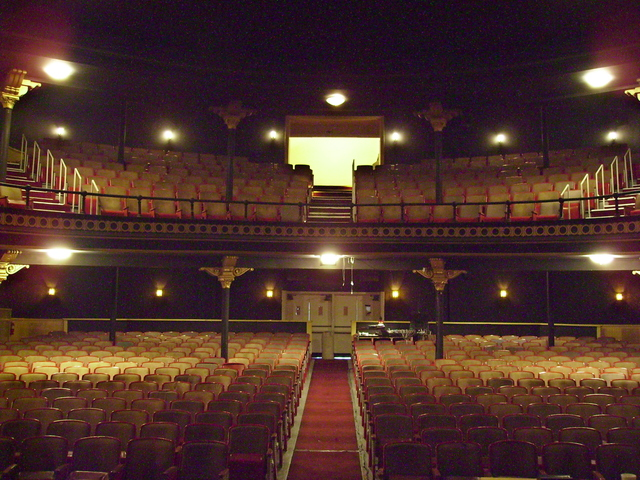 Interior of the Sorg Opera House