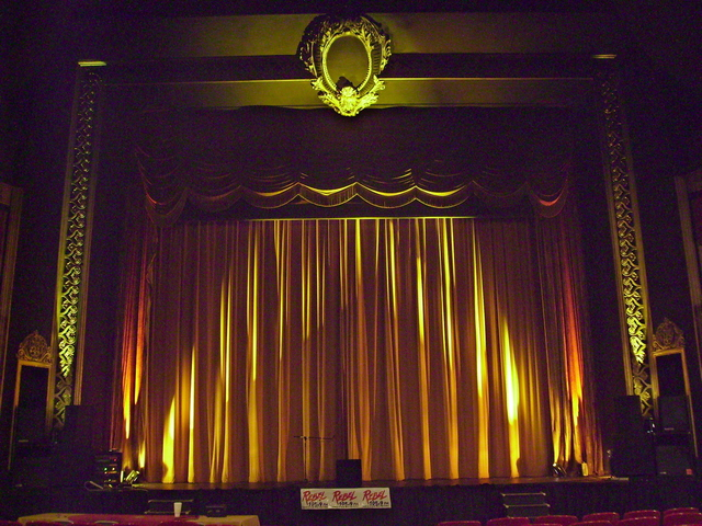 The Sorg Opera House Stage