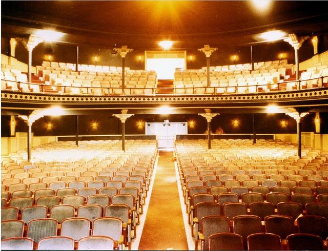 Interior of the Sorg Opera House taken in 1990