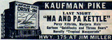 An ad for the Kaufman