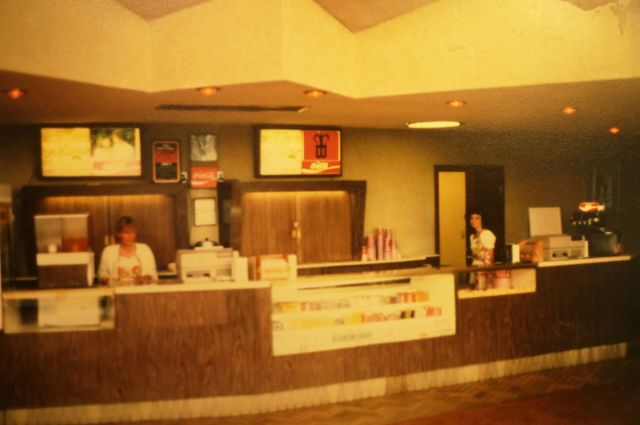Concession Counter during Wehrenberg Days