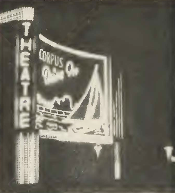 Night shot as Corpus DI in 1955