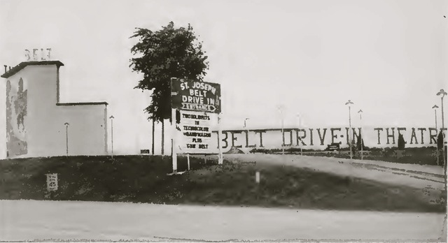 1954 view of the Belt DI