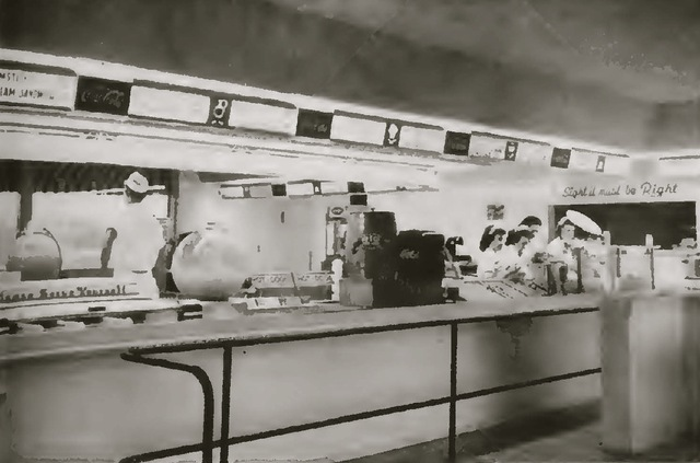 Concession Booth at the Twin inside