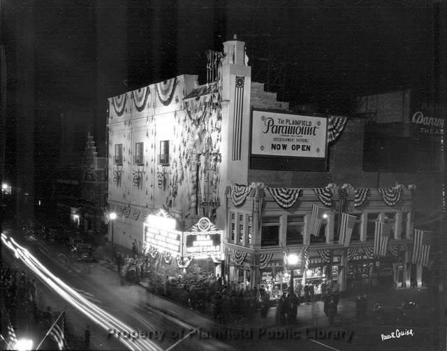 Paramount Theatre - Plainfield NJ - grand opening