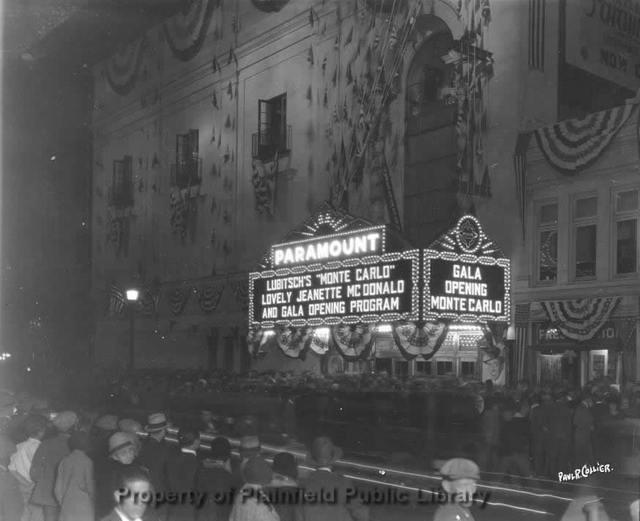 Paramount Theatre - Plainfield NJ