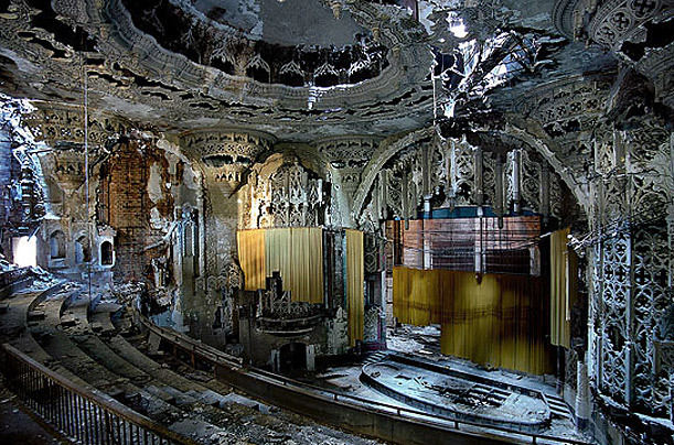 United Artists Theater In Detroit Mi Cinema Treasures