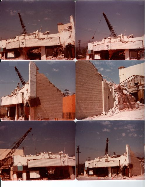 Lyric/Crest Theatre Demolition 2
