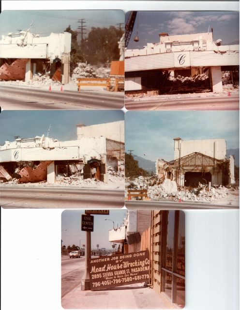 Lyric/Crest Theatre Demolition 4