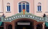 Sebastiani Theatre Marquee